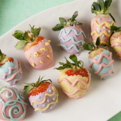 Easter Egg Strawberries