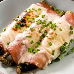 Ham & Asparagus Breakfast Roll-Ups