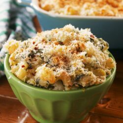 Spinach Artichoke Mac & Cheese