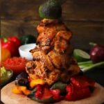 Giant Chicken Fajita Kebab