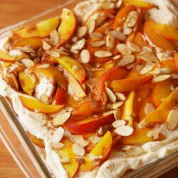 Peaches 'n Cream Lasagna