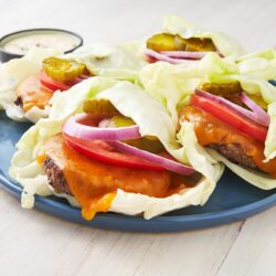Cheeseburger Cabbage Wraps
