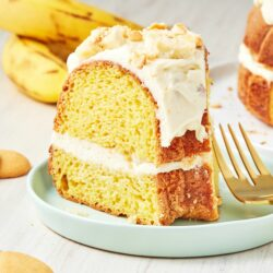 Banana Pudding Bundt Cake