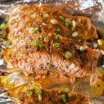 Cajun Butter Baked Salmon