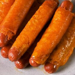 Fried Cheese Hot Dogs