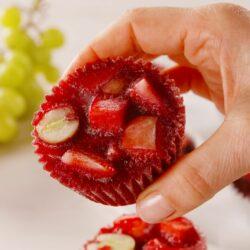 Frozen Sangria Fruit Cups