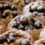 Pull-Apart Blueberry Bread Pudding