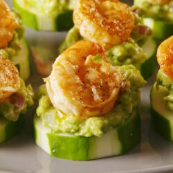 Shrimp Cucumber Bites