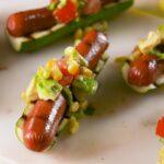 Zucchini Bun Hot Dog