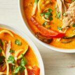 Coconut Zoodle Soup