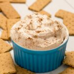 Cinnamon Roll Cheesecake Dip