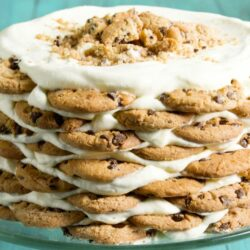 Milk N' Cookies Icebox Cake