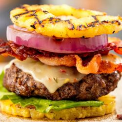 Pineapple Bun Burgers