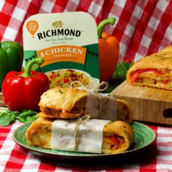 Richmond Chicken and Peppers Picnic Bread