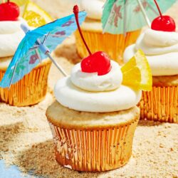 Bahama Mama Cupcakes