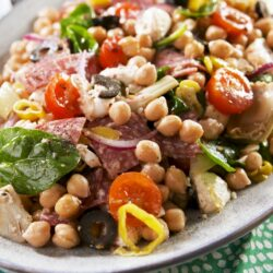 Antipasto Chickpea Salad