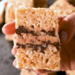 Cookie Dough Rice Krispie Treats
