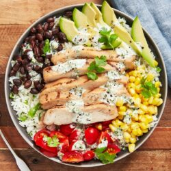 Cilantro Lime Chicken & Rice Bowl