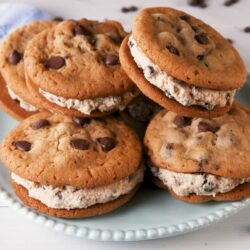 Cookie Dough Cookie Sandwiches