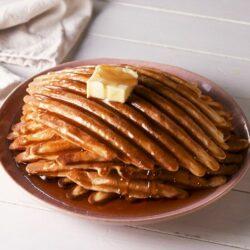 Grill Pan Waffles