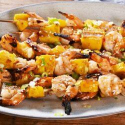Pineapple Shrimp Skewers