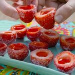 Strawberry Daiquiri Jell-O Shots