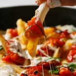 Margherita Pizza Fries
