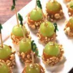 Caramel Apple Grapes