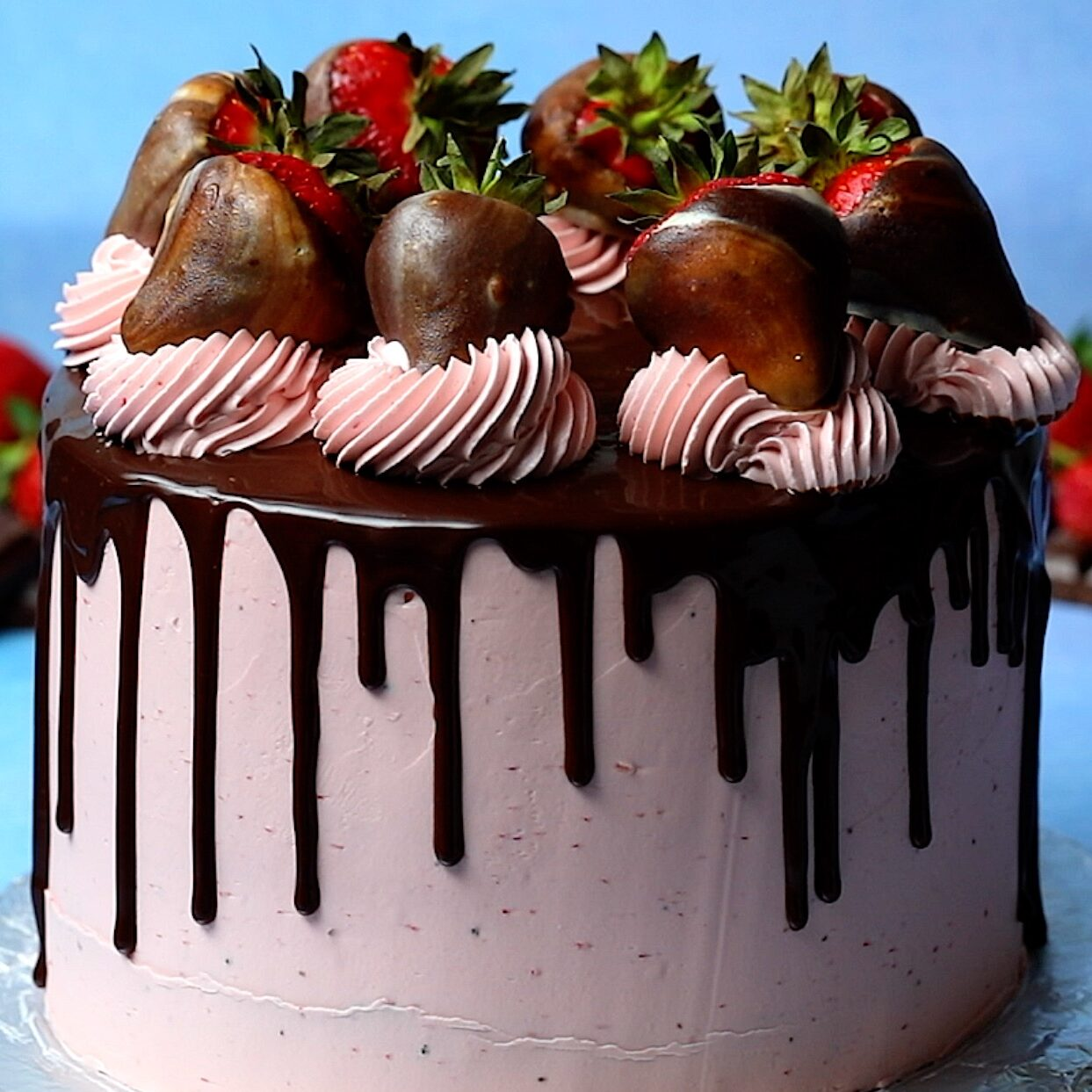 Chocolate Covered Strawberry Cake 5 Trending Recipes With Videos