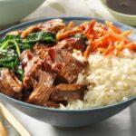 Korean BBQ Rice Bowl