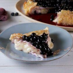 """Blueberry Brie """"Pie"""""""