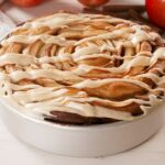 Giant Caramel Apple Cinnamon Roll