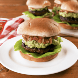 Taco Stuffed Burger