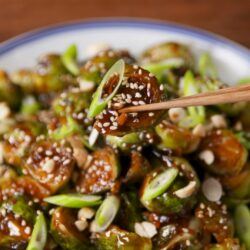 Kung Pao Brussels Sprouts