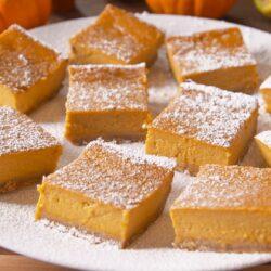 Pumpkin Dream Bars