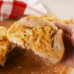 Buffalo Chicken Stuffed Bread