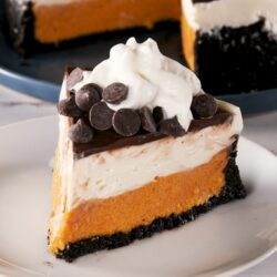 Chocolate Pumpkin Mousse Cheesecake