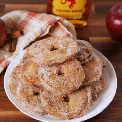 Fireball Apple Fritters