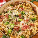 Bacon & Broccoli Chicken Alfredo