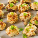 Chicken Artichoke Stuffed Mushrooms
