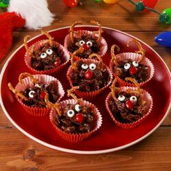 Rudolph Cornflake Cakes