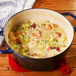 Shrimp & Bacon Corn Chowder
