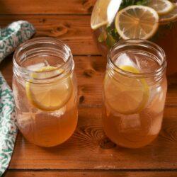 Whiskey Lemonade Punch