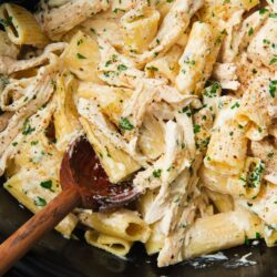 Slow-Cooker Chicken Alfredo
