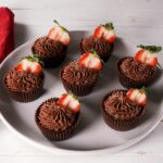 Strawberry Chocolate Mousse Cups