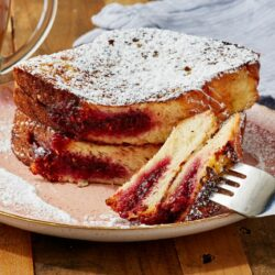 Jelly Donut French Toast