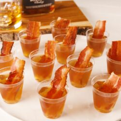 Bacon Bourbon Jell-O Shots