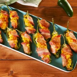 Breakfast Jalapeño Poppers