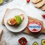 Philadelphia Sweet Chilli And Lime Chicken Open Sandwich
