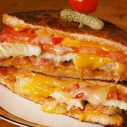 Bloody Mary Grilled Cheese
